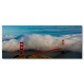 Αφίσα (ομίχλη, σύννεφα, θάλασσα, βουνό)